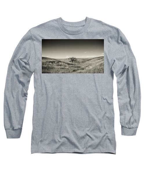 Lone Tree Winter Long Sleeve T-Shirt
