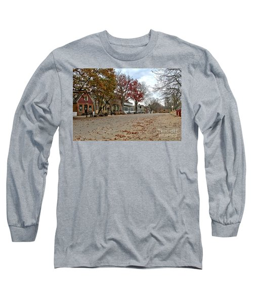 Lonely Colonial Williamsburg Long Sleeve T-Shirt