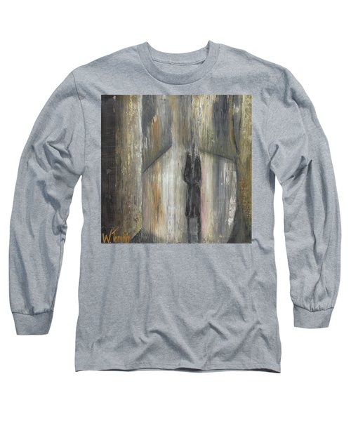 'lonely Road Without Him' Long Sleeve T-Shirt