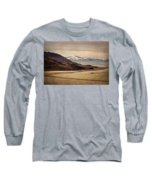 Long Sleeve T-Shirt featuring the photograph Lonesome Land by Priscilla Burgers