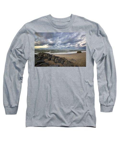 Long Island Sound Whitecaps Long Sleeve T-Shirt