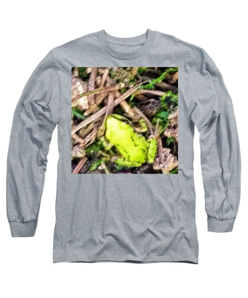 Look Who Hopped By - The Tiniest Baby Long Sleeve T-Shirt
