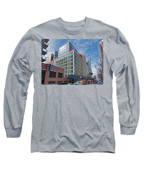 Looking West Long Sleeve T-Shirt by Steve Sahm