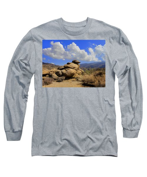 Long Sleeve T-Shirt featuring the photograph Lookout Rock by Michael Pickett