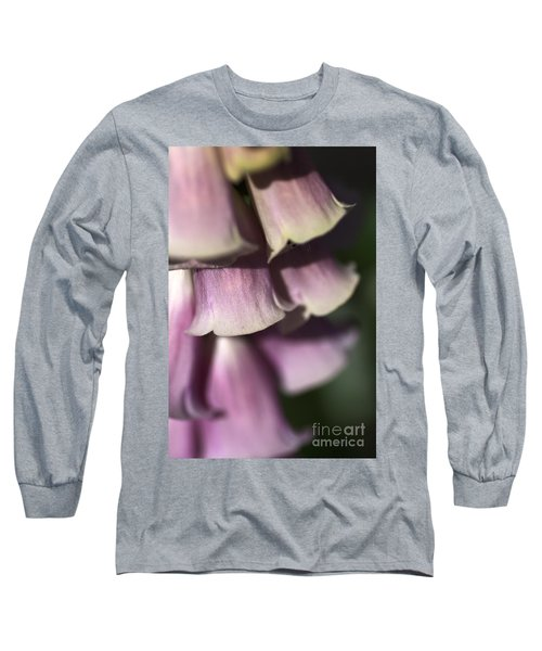 Long Sleeve T-Shirt featuring the photograph Lost In A Foxglove by Joy Watson