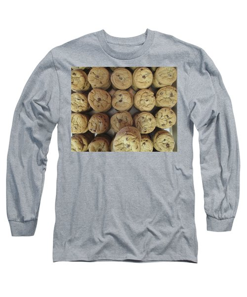 Lotta Cookies Long Sleeve T-Shirt by Kevin Caudill