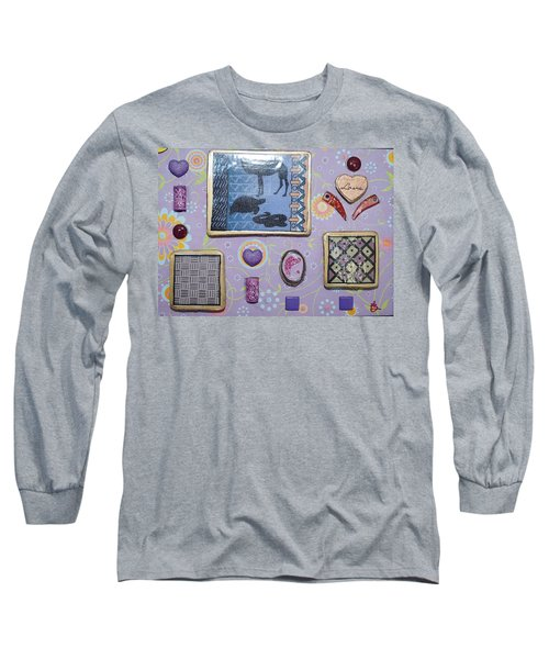 Love Collage Long Sleeve T-Shirt