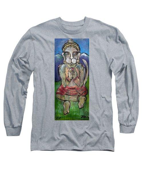 Love For Hanuman Long Sleeve T-Shirt