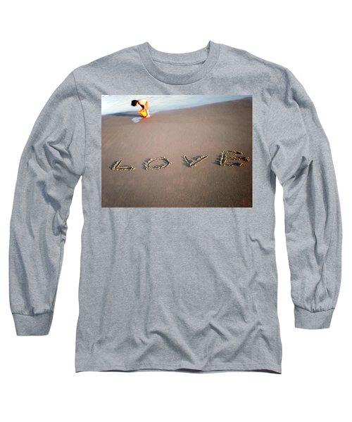 Love Is Blue Long Sleeve T-Shirt
