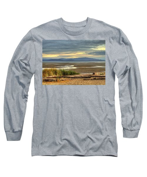 Low Tide Long Sleeve T-Shirt by Randy Hall