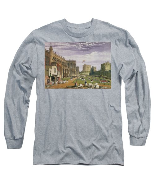 Lower Ward With A View Of St Georges Long Sleeve T-Shirt