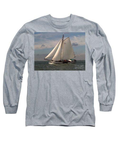 Long Sleeve T-Shirt featuring the photograph Loyal Winds by Luc Van de Steeg
