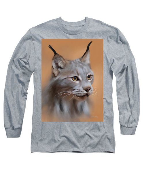 Lynx Portrait Long Sleeve T-Shirt