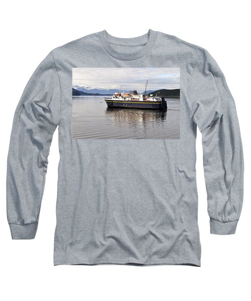 Long Sleeve T-Shirt featuring the photograph M/v Leconte by Cathy Mahnke