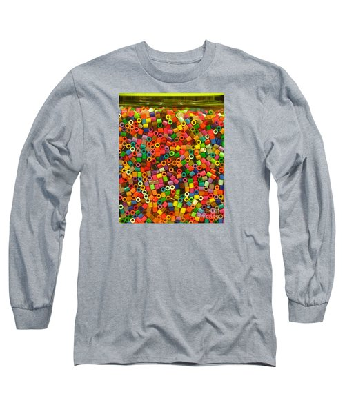Macaroni Beads Long Sleeve T-Shirt