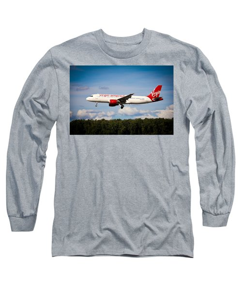 Airplane Long Sleeve T-Shirt featuring the photograph Mach Daddy by Aaron Berg