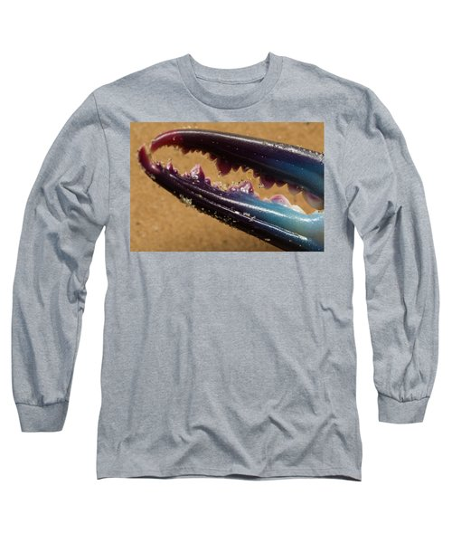 Macro Crab Claw Long Sleeve T-Shirt