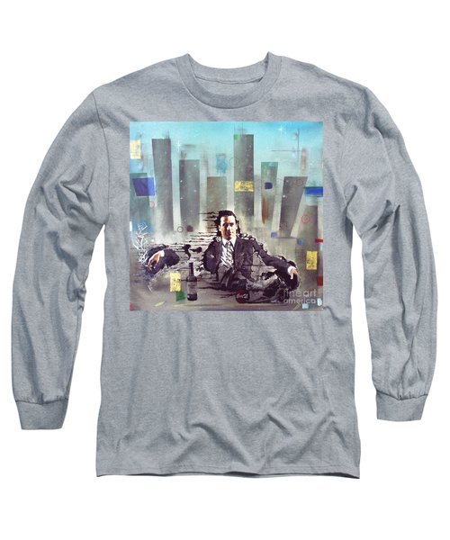 Mad Men Disintegration Of Don Draper Long Sleeve T-Shirt