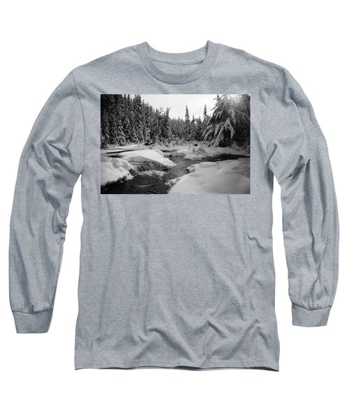 Madawaska River Long Sleeve T-Shirt by David Porteus