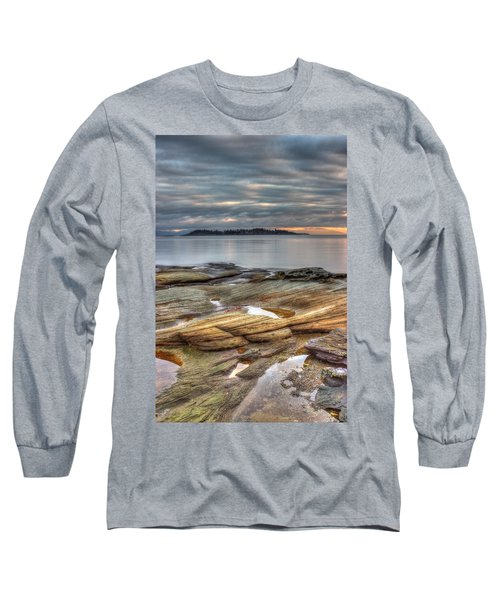 Madrona Sunrise Long Sleeve T-Shirt by Randy Hall