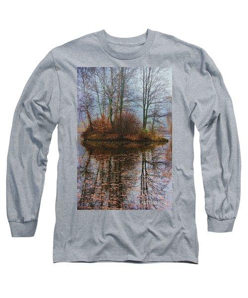 Magic Reflection Long Sleeve T-Shirt by Mariola Bitner