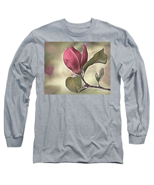 Magnolia Glow Long Sleeve T-Shirt