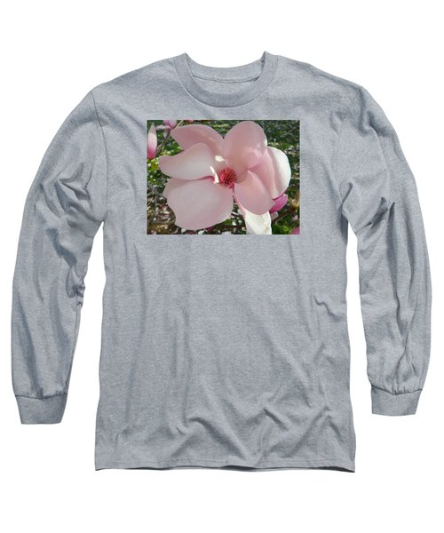Magnolia Surprise Long Sleeve T-Shirt by Emmy Marie Vickers