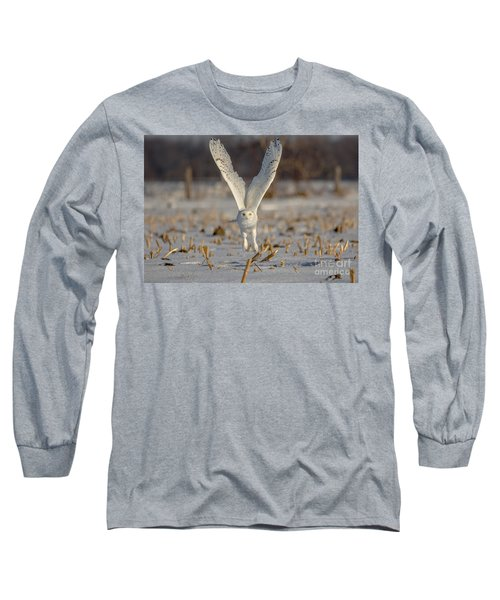 Majestic Snowy Long Sleeve T-Shirt