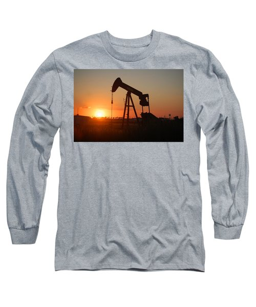 Making Tea At Sunset 2 Long Sleeve T-Shirt