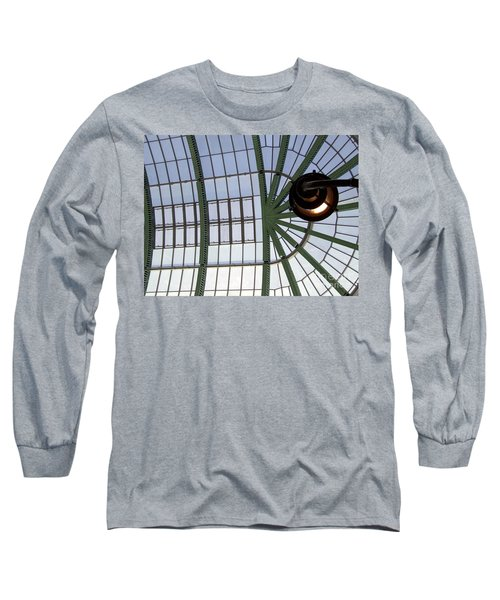 Long Sleeve T-Shirt featuring the photograph Mall Of Emirates Skylight by Andrea Anderegg