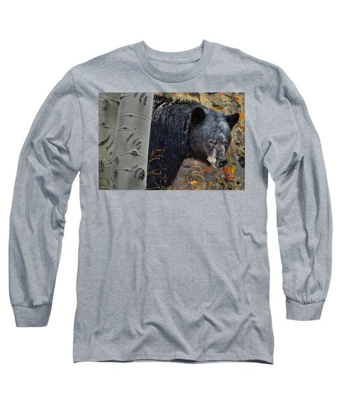 Mama Bear Long Sleeve T-Shirt by Ed Hall