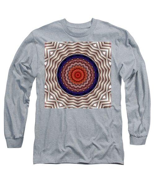 Long Sleeve T-Shirt featuring the digital art Mandala 10 by Terry Reynoldson