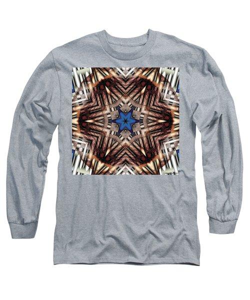 Long Sleeve T-Shirt featuring the digital art Mandala 13 by Terry Reynoldson