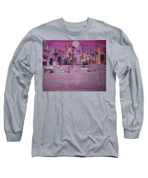 Manhattan Moonshine Long Sleeve T-Shirt