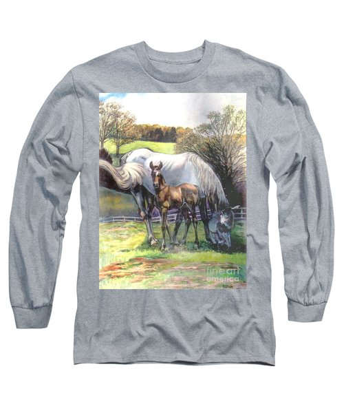 Mare And Foal Long Sleeve T-Shirt