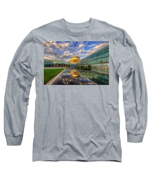 Marjorie Mcneely Conservatory Evening  Long Sleeve T-Shirt