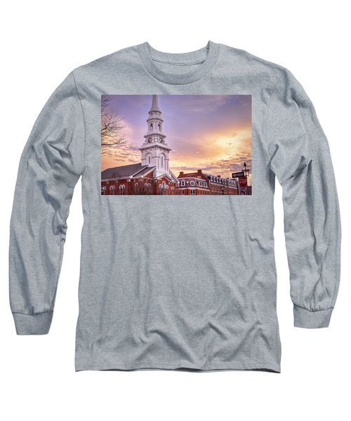 Market Square Rooftops Long Sleeve T-Shirt