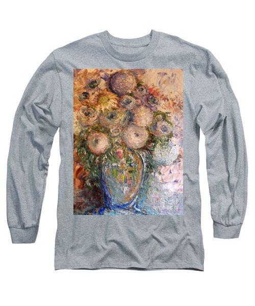 Marshmallow Flowers Long Sleeve T-Shirt