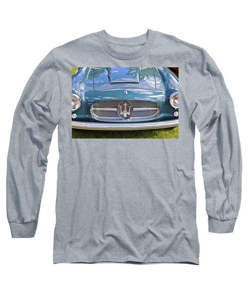 Maserati A6g 54 2000 Zagato Spyder 1955 Long Sleeve T-Shirt by Maj Seda
