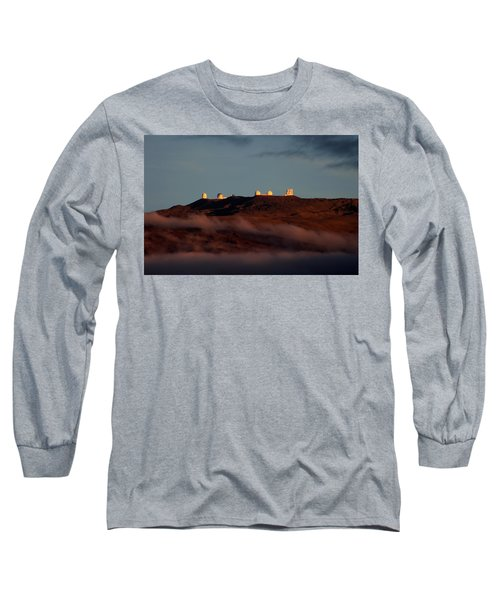 Mauna Kea Long Sleeve T-Shirt by Pamela Walton
