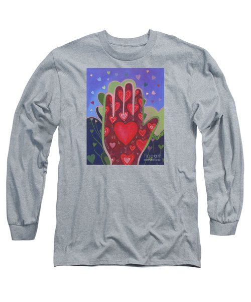 May We Choose Love Long Sleeve T-Shirt by Helena Tiainen
