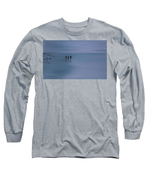 Long Sleeve T-Shirt featuring the painting Mdt 1.2 by Tim Mullaney