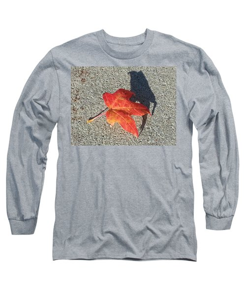 Long Sleeve T-Shirt featuring the photograph Me And My Shadow by Caryl J Bohn