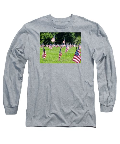 Long Sleeve T-Shirt featuring the photograph Memorial Day by Ed Weidman