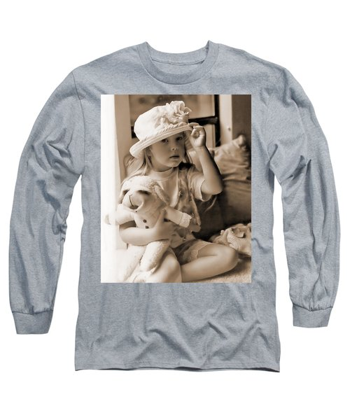Memories Out Of Time Long Sleeve T-Shirt by Rory Sagner