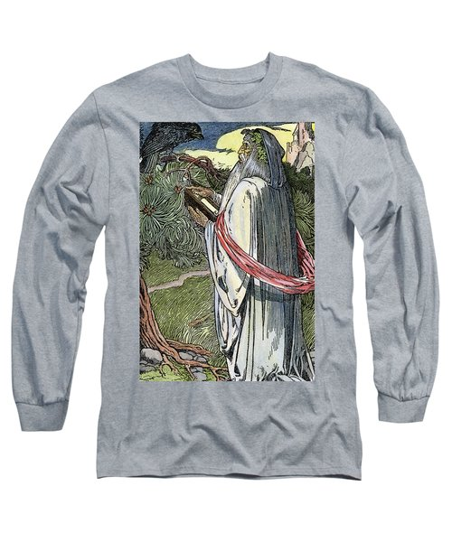 Merlin The Magician, 1923 Long Sleeve T-Shirt by Granger