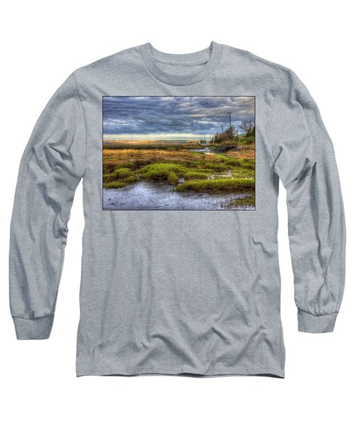 Merrimack River Marsh Long Sleeve T-Shirt