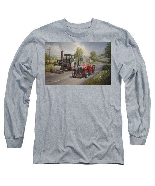 Mg Sports Car. Long Sleeve T-Shirt
