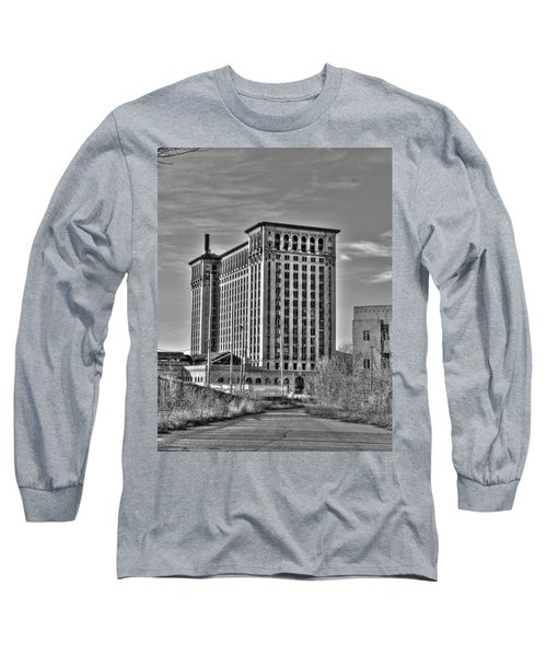Michigan Central Station Long Sleeve T-Shirt