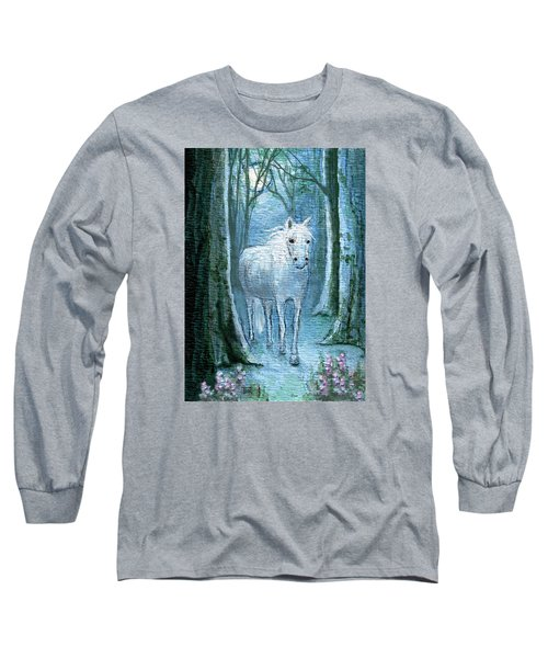 Long Sleeve T-Shirt featuring the painting Midsummer Dream by Terry Webb Harshman